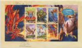04/10/2011 Australia FDC Mythical Creatures miniature sheet